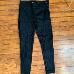 Black stretch trouser
